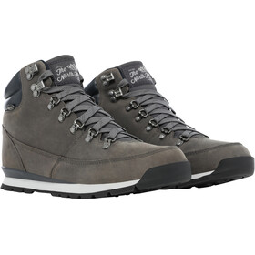 The North Face Back-To-Berkeley Redux Chaussures en cuir Homme, zinc grey/ebony grey